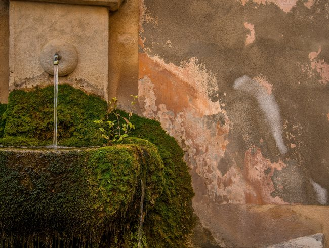 Moss, Wall Fountain Garden Design Calimesa, CA
