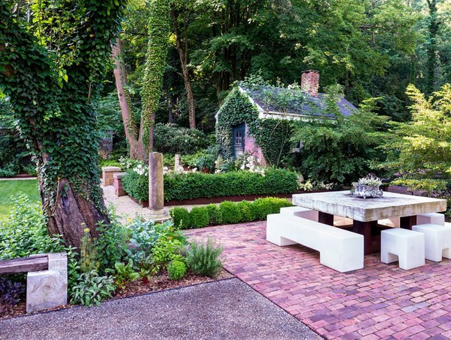 garden design landscaping. Old And New Mash Up Garden Design Calimesa  CA Top Trends for 2017