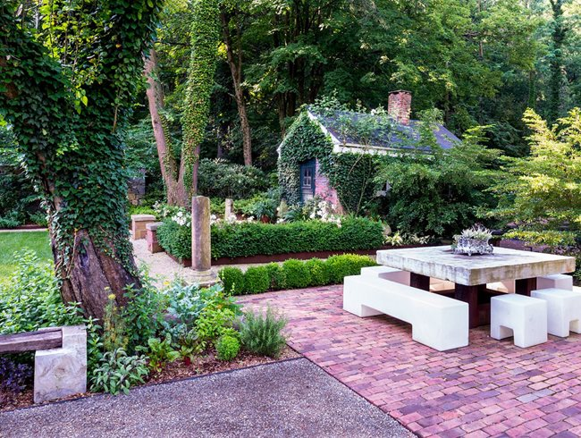 old and new mash up garden design calimesa ca - Gardening Design Ideas