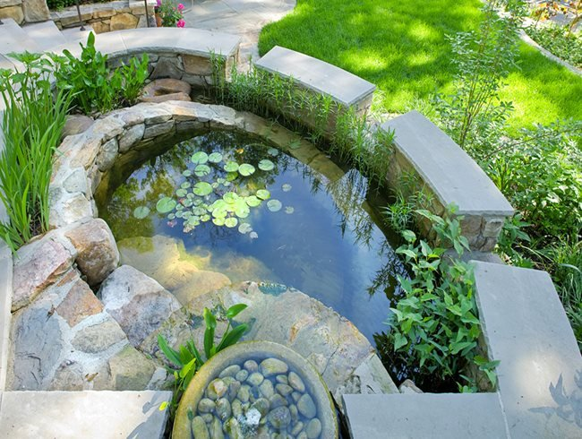 Garden Designe hp23ljpg Rainwater Harvesting Catchment Pond Tom Mannion Landscape Design Inc Arlington Va