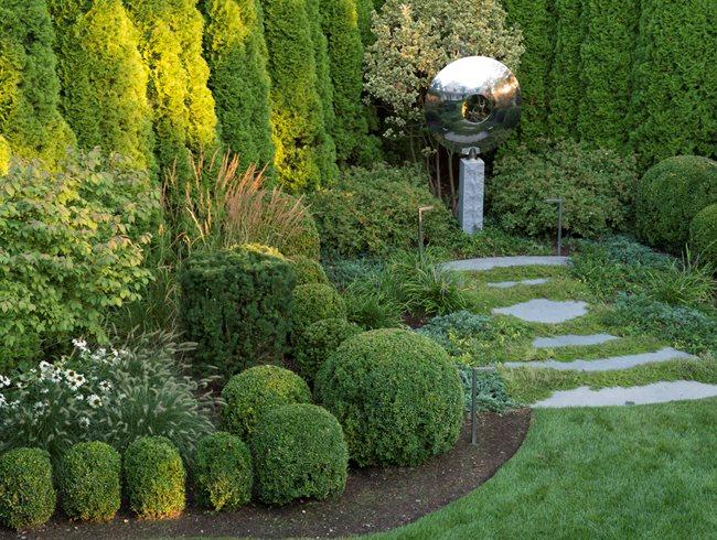 Evergreen Garden Design Hedge Design Ideas Best House Tips