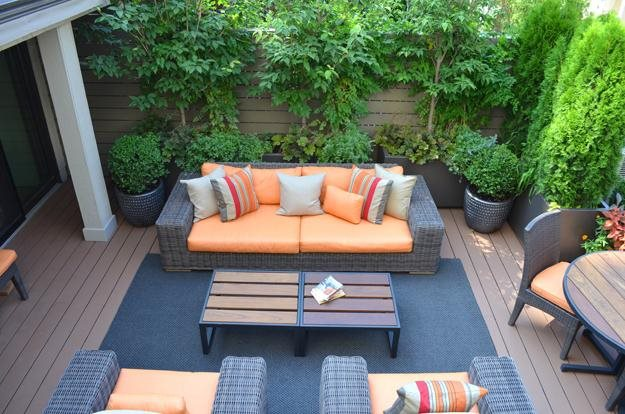 Bon Rooftop Terrace In Chelsea For Enteraining Garden Design Calimesa, CA