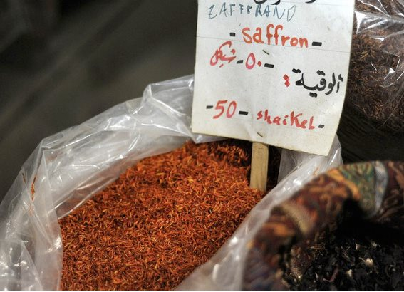 Saffronsaffron-At-A-Spice-Shop-In-The-Old-City-Of-Nablus-West-Bank Garden Design Calimesa, CA
