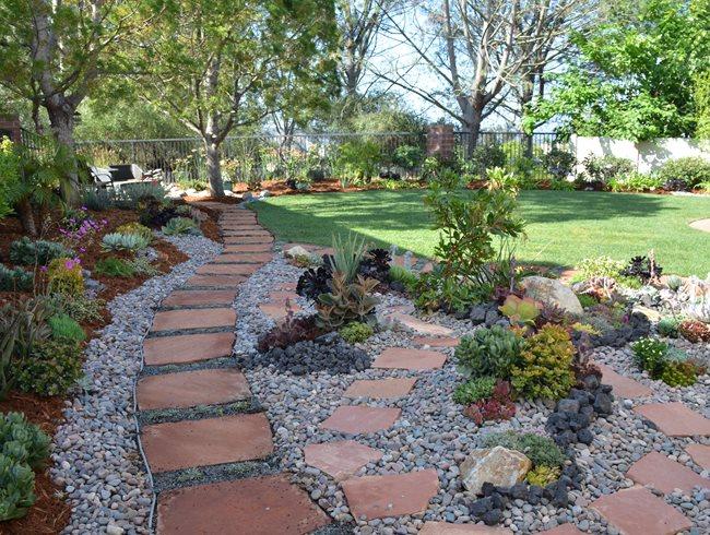 San Diego, Succulent Garden San Diego Horticultural Society Encinitas, CA