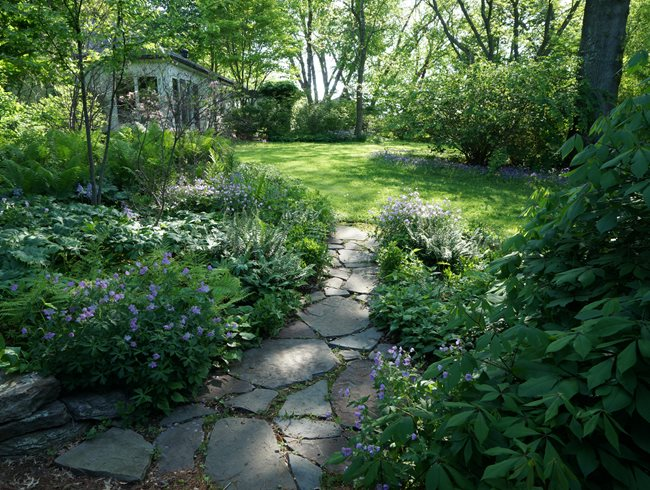 Sustainable strolling garden garden design for Garden design ideas toronto