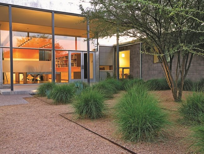 Desert paradise garden design for Ten eyck landscape architects