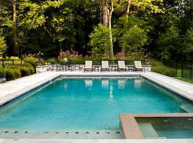 The Swimming Pool The LaurelRock Company Wilton, CT