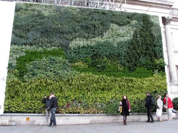 National Gallery'S Van Gogh Vertical Garden | Garden Design