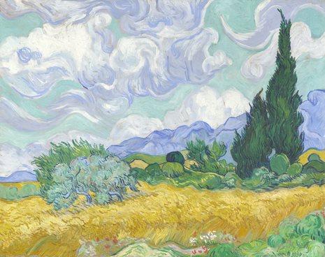 National Gallery S Van Gogh Vertical Garden Garden Design