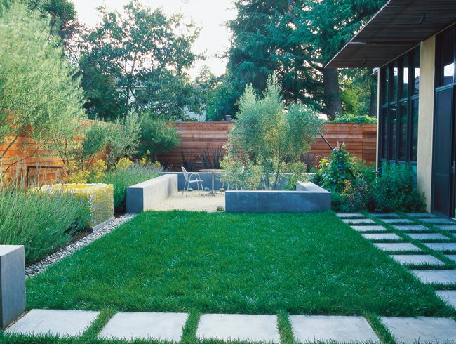 Garden Ideas For Narrow Spaces best 25 small space gardening ideas on pinterest Minimalist Garden Small Lawn Small Garden Pictures Bernard Trianor Associates Monterey Ca
