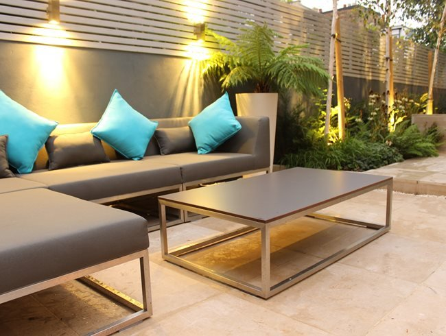 Garden Furniture, Garden Lighting Daniel Shea Contemporary Garden Design Norfolk, UK