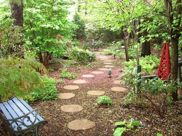 Designing A Shade Garden image of shade garden design plans shade garden design A Cool Quiet Corner Of The World Garden Design Calimesa Ca