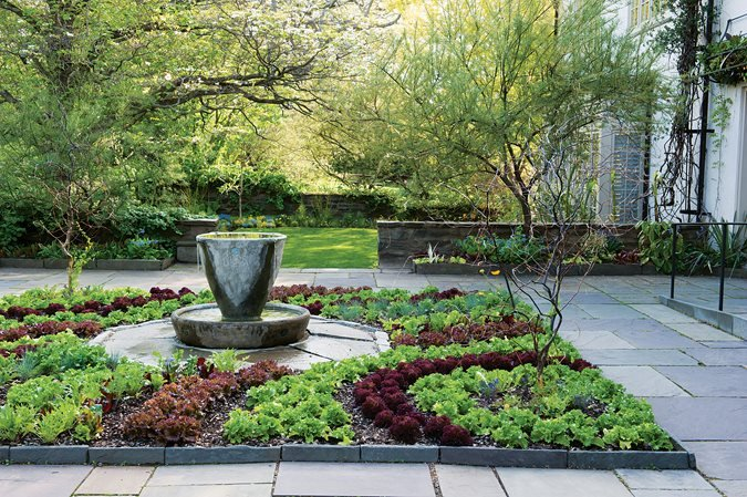 Edible garden pictures gallery garden design for Edible garden design ideas