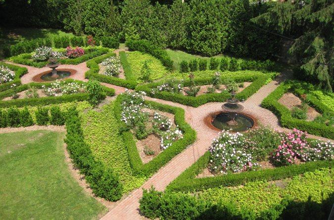 From Parking Lot To Rose Garden Gallery Garden Design