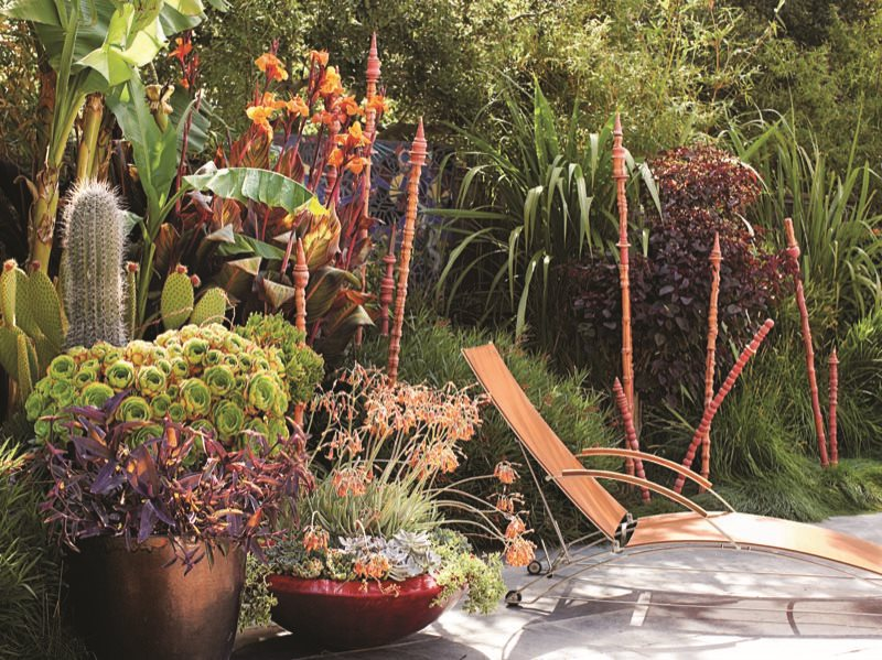 Elegant California Dreaming: A Davis Dalbok Garden Living Green Design San Francisco,  CA