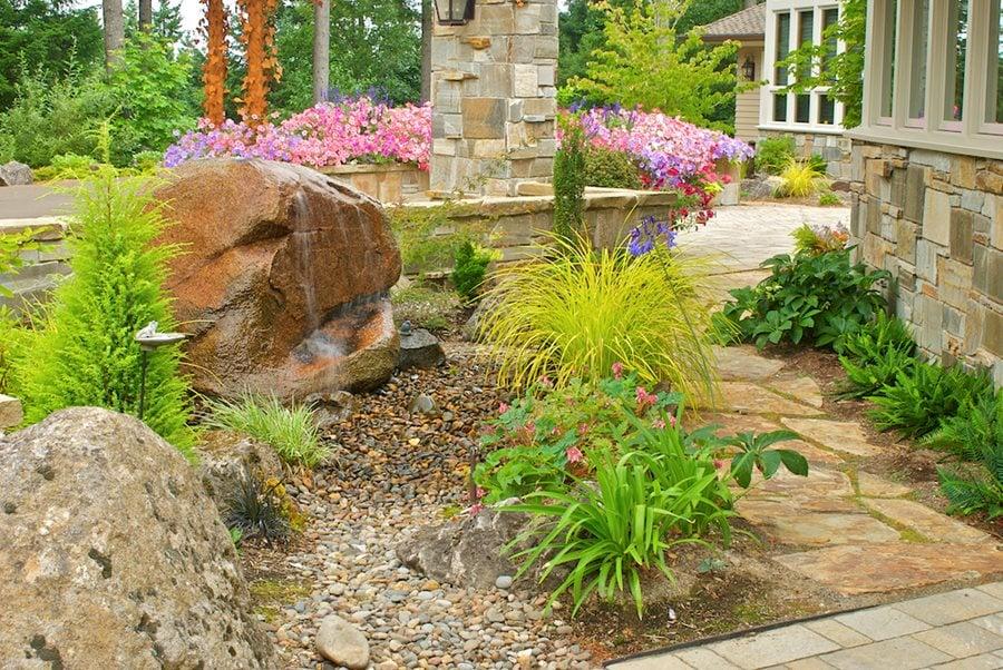 Rock Garden Ideas How To Design A, Better Lawns And Gardens Little Rock