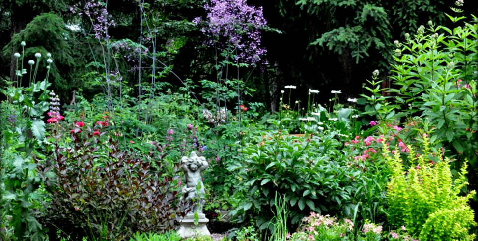 Cottage Garden, Perennials Garden Design Calimesa, CA