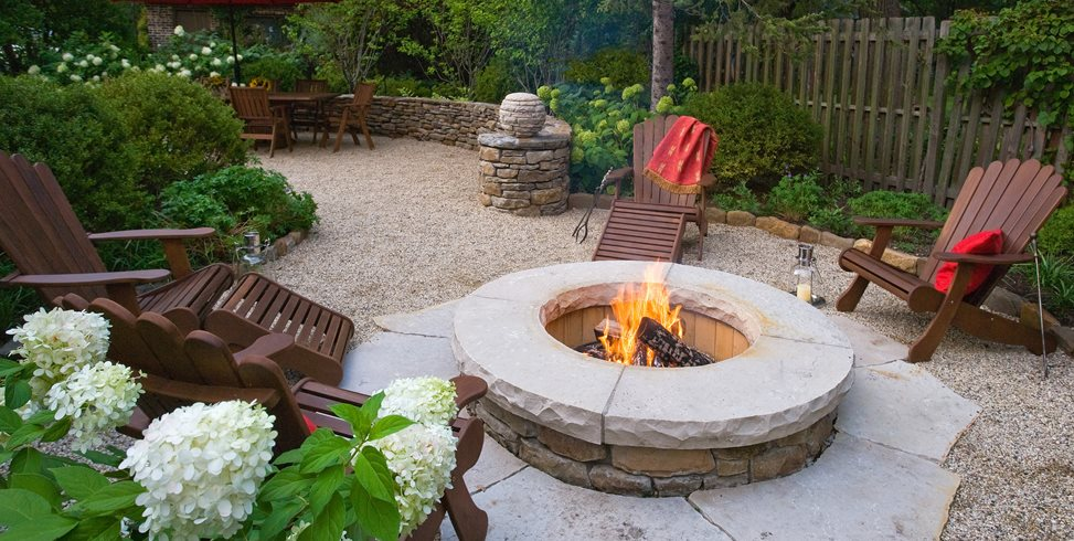 Outdoor Patio Ideas On A Budget Fire Pits