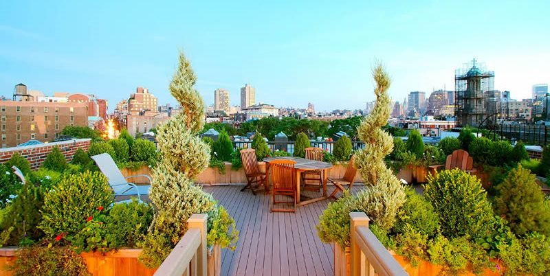 Rooftop Garden Planters, Weight Restrictions Amber Freda Home U0026 Garden  Design New York, ...