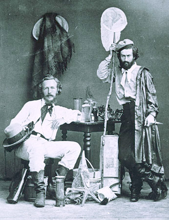 Haeckel and assistant