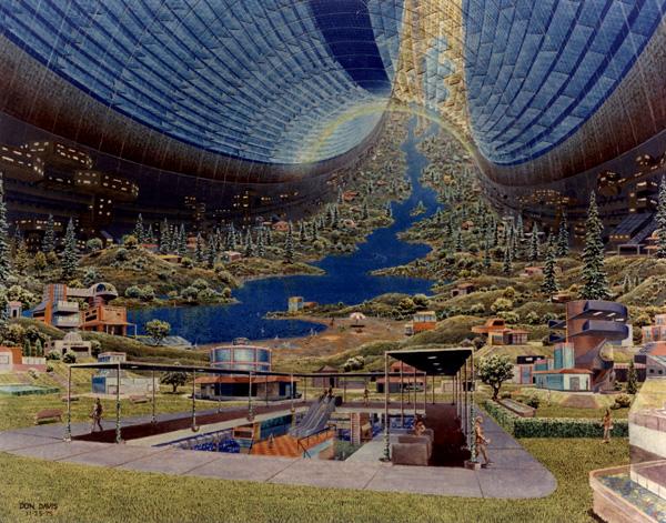 NASA garden