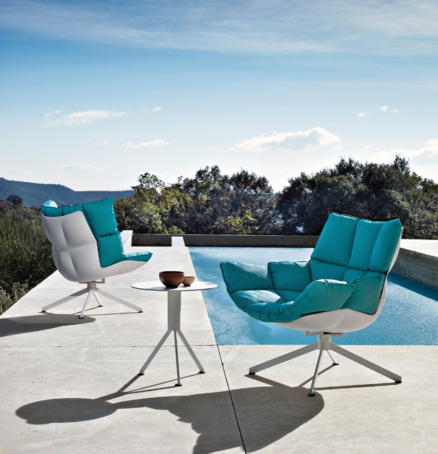 B&B Italia Husk Outdoor Chairs