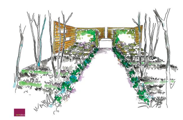 Jardins, Jardin Sketch