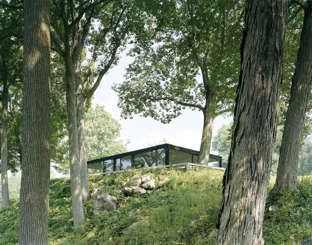 Philip Johnson Glass House Eirik Johnson