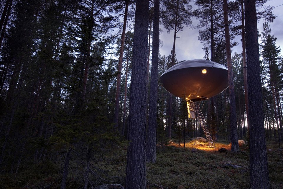 treehotel UFO
