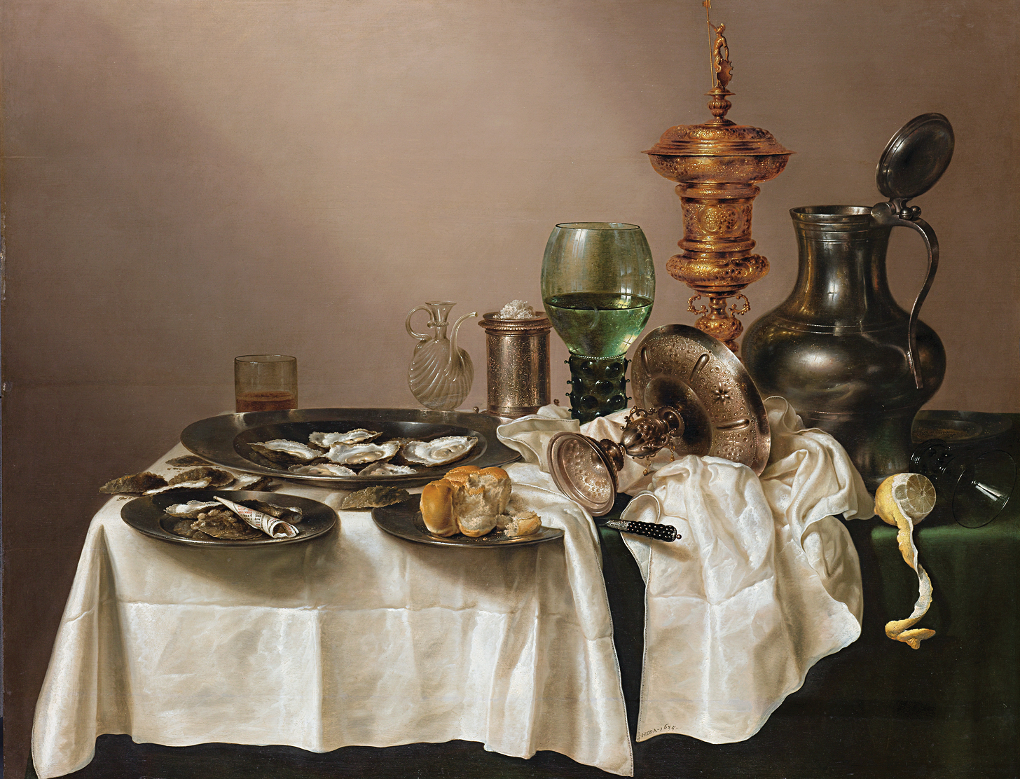 Still Life with Gilt Cup