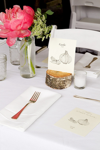 wedding place setting