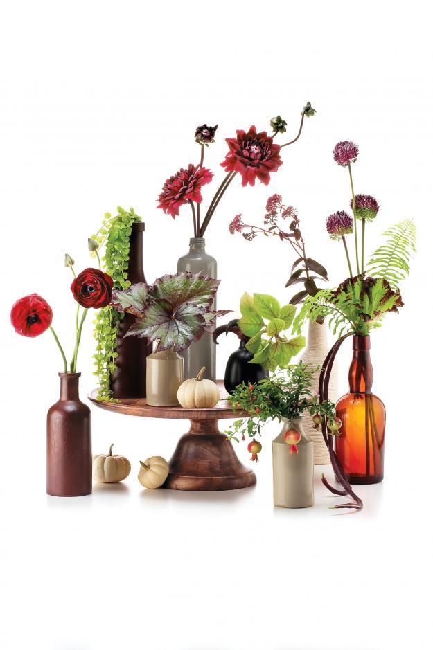 Flower arrangement by David Stark
