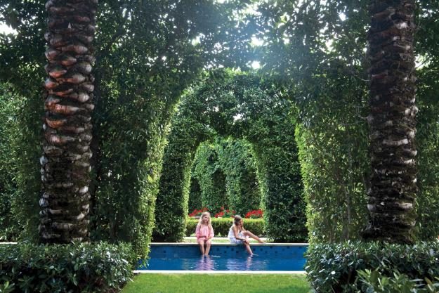 Garden Design, Palm Beach garden