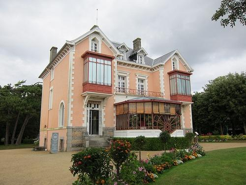 74d8174ed57ff Les Rhumbs, Christian Dior s childhood home in Granville, Normandy, France.