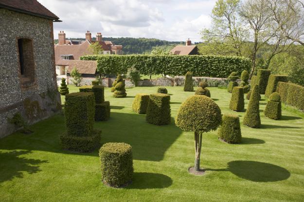 Chalkland Farm topiary