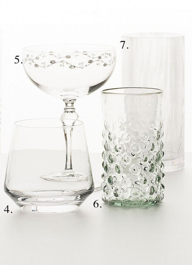 Garden Design - glasses to raise 2