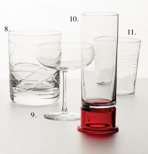Garden Design - glasses to raise 3