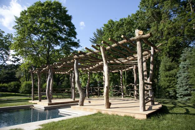 Charlie Baker garden structure