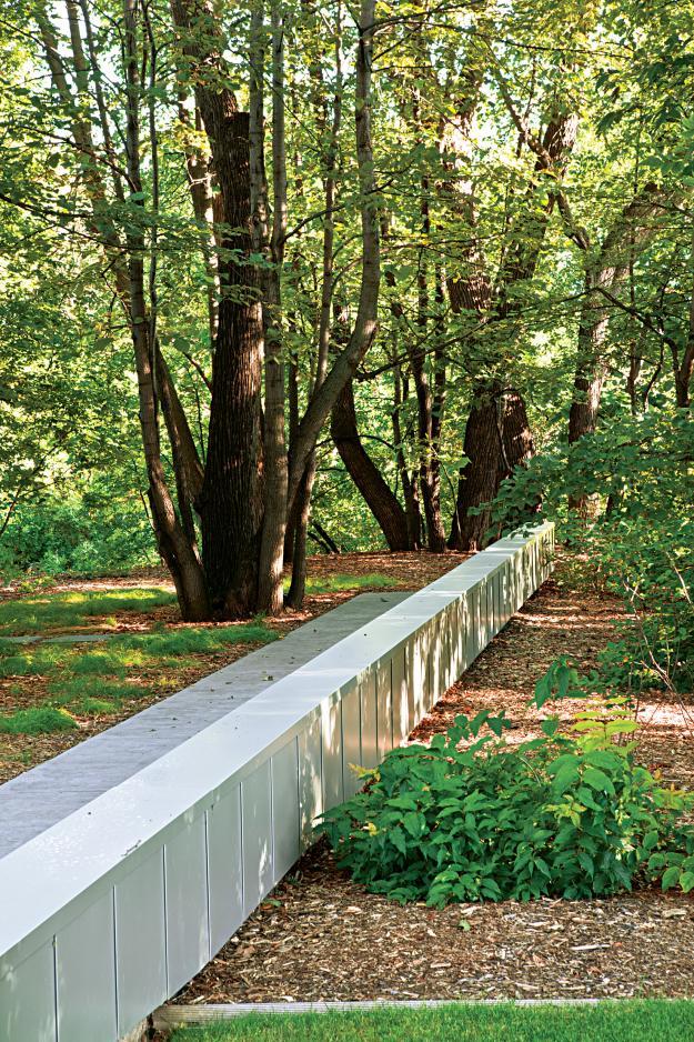 fargo garden fin wall