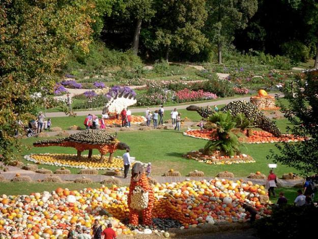Botanic superlatives the world 39 s largest pumpkin festival - Botanic gardens pumpkin festival ...