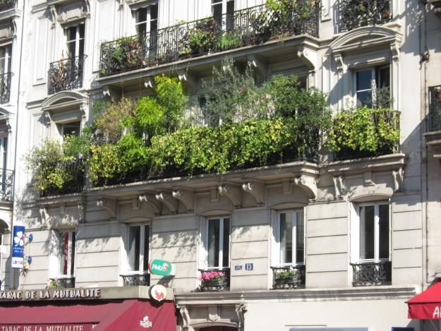 paris balcony