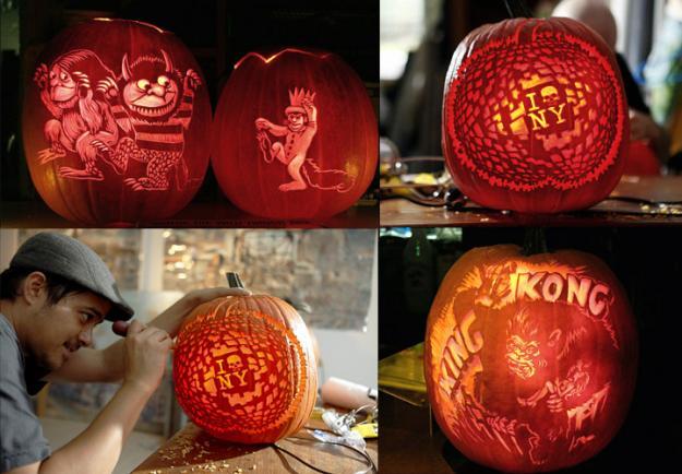 NYC's Maniac Pumpkin Carvers