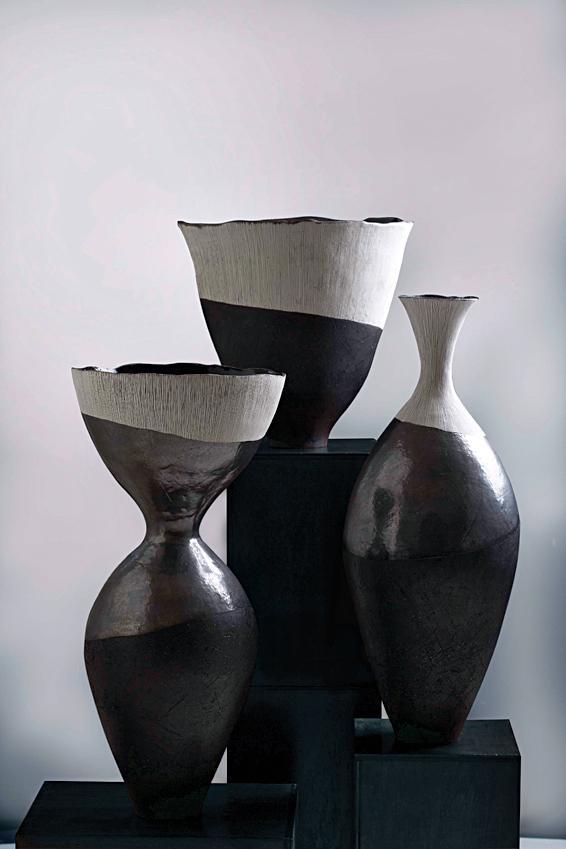 Helen Vaughan vases