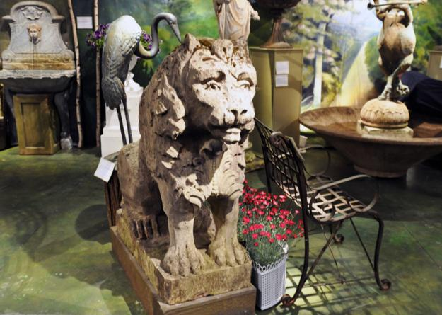 barbara israel mossy lion