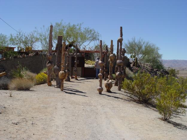 Desert Garden Entrance