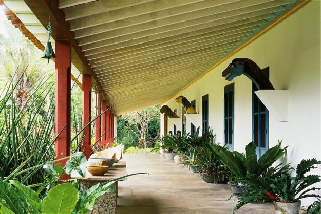 Burle Marx Sitio Porch