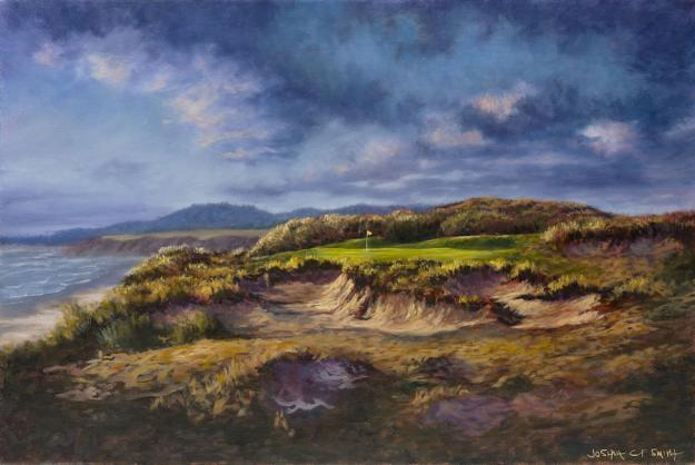 Golf Landscape Painting