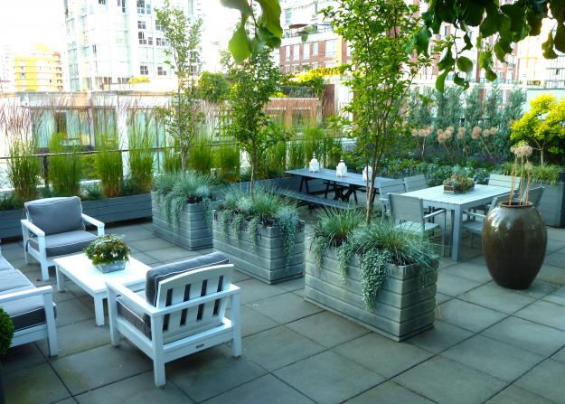 Vancouver Rooftop Terrace