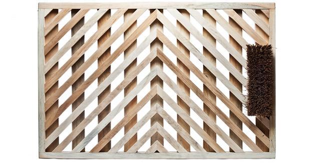 Handmade White Pine Doormat