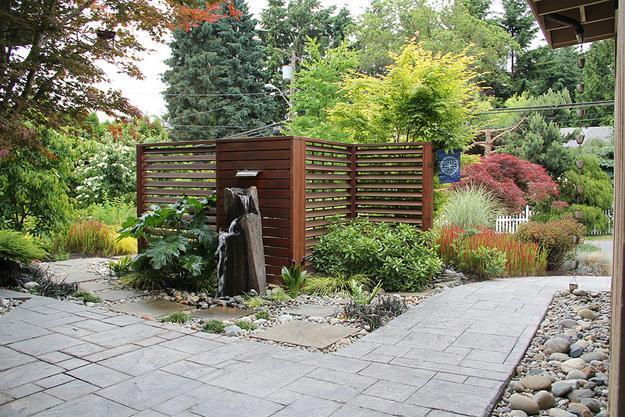 Yard Design: Zen Front Yard Design on